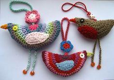Szydełkowe ptaszki