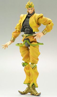 F/S JoJo's Bizarre Adventure Dio PVC ABS Action Figure Third ver MEDICOS Japan #MEDICOS