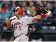 Angels Notes: Done for the season Albert Pujols looks for a return to field in '17