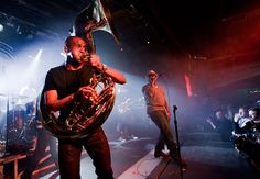 The Roots perform during the Express Rocks concert on January 22, 2011 in Park City, Utah.