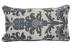 Accent Pillow-Imogen Grey 14X26 - Main