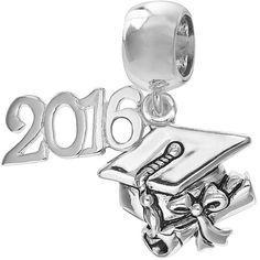 pandora graduation charm 2016