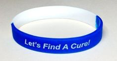 ALS Bracelets, Wristbands & Keychains by Aqua Moon Keepsakes. We donate a portion of the proceeds of the sale of each of these items to the fallens' families. May Awareness Month, Cancer Awareness, Amyotrophic Lateral Sclerosis, Keepsakes, Keychains, The Cure, Aqua, Blue And White, Moon