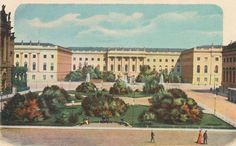 Berlin / University / Postcard c. 1900.