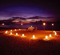mesa para dos en la playa - Buscar con Google