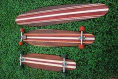 Hand Made Longboard Decks from Plank Longboards $97