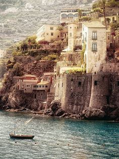 Amalfi Coast... Best time to visit is mid-September through early October.... Another source said...Spring and Fall are the best times! Not as hot, less tourists, and you can really enjoy the landscape.