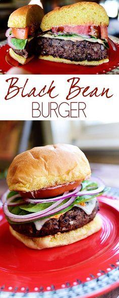 Black Bean Burger Recipe | Grilling  BBQ | Summer Cookout | healthy recipe ideas Healthy Recipes |
