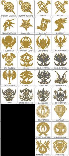 클래스별 고유 문양 아이콘 어디 갔죠? - 지식인챈트 : plaync 리니지2 Game Ui Design, Logo Design, Symbol Design, Game Icon, Magic Circle, Pictogram, Typography Logo, Coat Of Arms, Dungeons And Dragons