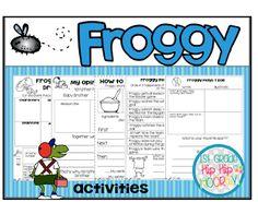 Froggy Stories...Author Jonathan London!
