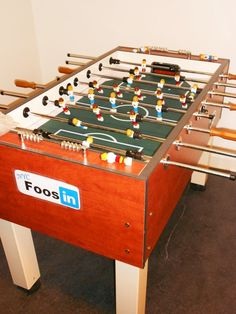 Take A Tour Through Linkedin's Offices High Up In The Empire State Building - LinkedIn branded Foosball!