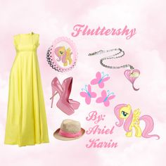 """My Little Pony: Fluttershy - Grand Galloping Gala"" by ariel-karin on Polyvore"