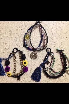 Bracelets by me, MadeinPerth on Etsy now!