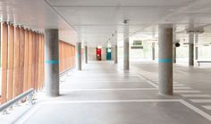 Gallery of Parking Garage Cliniques Universitaires Saint-Luc / de Jong Gortemaker Algra Modulo architects - 12