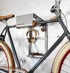 Fiets Ophangsysteem BikeDock Urban Grey Aluminium