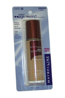 Maybelline Instant Age Rewind Foundation SPF18 Creamy Natural Light 5 *** You can get more details by clicking on the image. (This is an affiliate link)