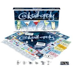 Late For The Sky Board Game Cocktail opoly Game Adult Party Games, Fun Games, Games To Play, Monopoly Board, Monopoly Game, Old School Board Games, Game Cocktail, Fun Drinking Games, The Deed