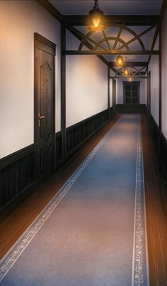 hallway episode interactive backgrounds anime ikerev army perfect