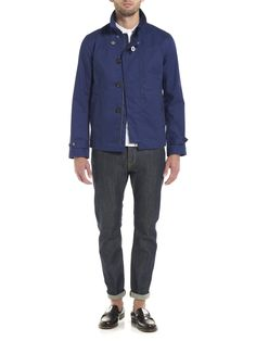 Plectrum Tailored Blouson | Boat Blue | Ben Sherman