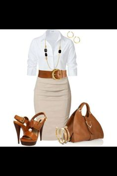 Work outfit #ootd #classy #workerchic Perfect for a summer job interview in NY.