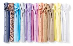 No-iron Perfect Shirts in an array of sorbet colors #ColdwaterCreek