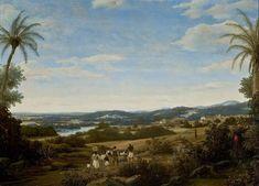 Landschap met miereneter 1660c