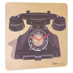 London-Clock-Company-Retro-Telephone-Wall-Clock-24244.jpg 1,280×1,280 pixels