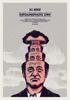 Groundhog Day by Andrew FairClough #LogoCore