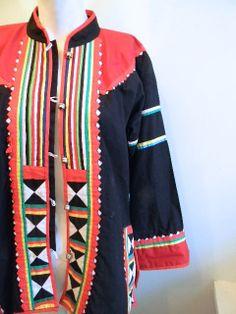 vintage.  70s Black Tribal Ethnic Jacket // Free by styleforlife, $62.25