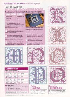 Gallery.ru / Фото #38 - The world of cross stitching 061 август 2002 - WhiteAngel