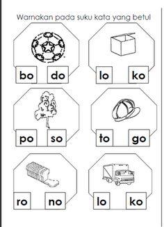 30 Best Suku Kata Images Preschool Learning Preschool Activities Preschool Printables