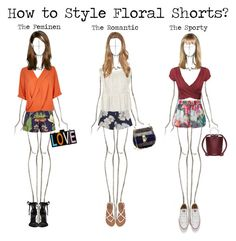 """""""How to Style Floral Shorts?"""" by morcarterly ❤ liked on Polyvore featuring Chloé, Penfield, Ted Baker, Finders Keepers, Billabong, Violeta by Mango, River Island, Schutz, Converse and Lipsy"""