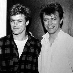 Bryan Adams & David Bowie