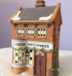 George Weeton, Watchmaker, Dickens' Village