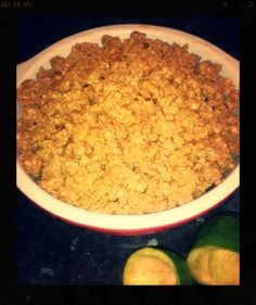 Fejoa and Ginger Crumble – Recipe Crumble Recipe, Macaroni And Cheese, Recipies, Cooking Recipes, Baking, Fruit, Ethnic Recipes, Wordpress, Food