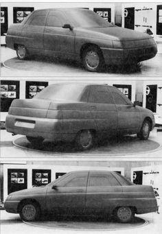 OG   1996 VAZ-2110 / ВАЗ-2110 / Lada 110   Clay model