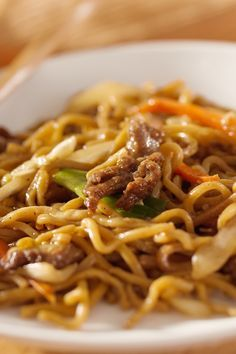 Easy, Budget Friendly Weight Watchers Asian Beef & Ramen Noodles Recipe. Ready in Ten Minutes. 9 WW Points