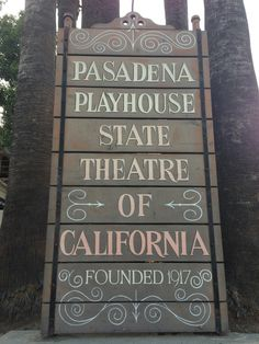 The Pasadena Playhouse in Pasadena, CA. Just a few blocks from dusitD2 Hotel Constance