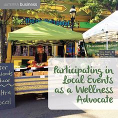 While there are many different way to share about essential oils, some members have found that participating in local events, whether individually or as a team, can create more positive experiences and growth within their community and doTERRA business.