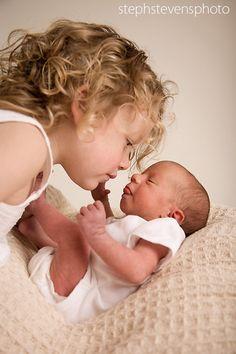 Cute sibling with newborn | Shop. Rent. Consign. MotherhoodCloset.com Maternity Consignment