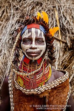 Gallery For > Female African Tribal Face Paint