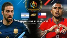 Copa America Centenario Match Recap | Argentina 2, Chile 1 | (June 6th, 2016 @  Levi's Stadium in Santa Clara, CA) | After an entertaining but scoreless first half, Argentina broke the game open six minutes after halftime as Angel Di Maria, finished at the near post. Eight minutes later, Ever Banega, whose shot got a slight deflection off Chile's Mauricio Isla fooled Chilean goalkeeper Claudio Bravo at the near post.  Chile (Jose Fuenzalida) notched a consolation goal deep in stoppage time.