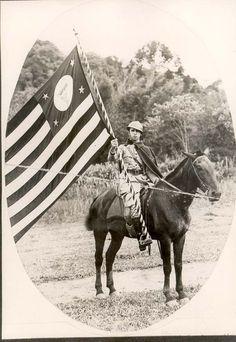 Voluntário paulista na Revolução Constitucionalista, 1932. São Paulo (SP). (CPDOC/ CDA Odete Junqueira)