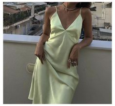 Mode Outfits, Fashion Outfits, Fashion Ideas, Silk Dress, Dress Up, Looks Style, My Style, Mode Glamour, Mode Ootd