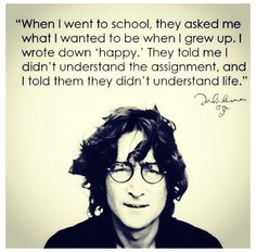 John Lennon - pop star, co-founder of The Beatles Citation John Lennon, John Lennon Quotes, Malcolm X, John Lennon Musica, Amazing Quotes, Great Quotes, Inspirational Quotes, Fabulous Quotes, Interesting Quotes