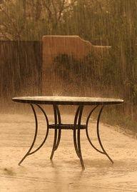 rain, go ahead and drive everyone indoors
