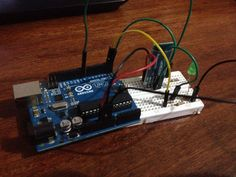 how to control led lights with computer using arduino