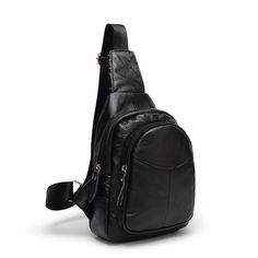 Genuine Leather Chest Pack Shoulder Bag Leisure Men Cow Leather High Quality Bags Free Shipping