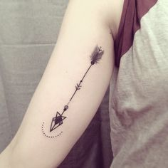 Arrow tattoo by Ana Work - Design of Tattoos