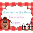 This freebie is something I created for my kinders to complete at a math center during our farm theme.  They are to choose a barn and find the numb...